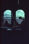 Slide: View out window at Glasgow Print Studio, Ingram Street