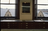 Slide: View out of window at the Glasgow Print Studio, Ingram Street