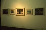 Slide: Exhibition in the gallery at Glasgow Print Studio, Ingram Street