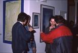 Slide: John Taylor exhibition at the Glasgow Print Studio, Ingram Street