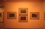 Slide: 'Heliogravures' exhibition by Michael Roschlau at the Glasgow Print Studio, 1990