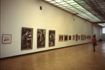 Slide: Glasgow Print Studio exhibition at House of Artists in Moscow, March 1991