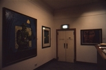 Slide: Joseph Davie exhibition at Glasgow Print Studio, 1991