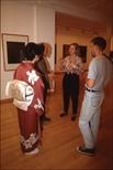 Slide: Contemporary Japanese Printmaking exhibition at Glasgow Print Studio, 1991