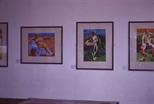 Slide: Elise V Allan, Artist of the Month exhibition 1993.