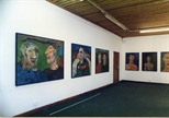 Photograph: Douglas Thomson exhibition at Glasgow Print Studio