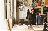 Photograph: Glasgow Print Studio workshop - Ingram Street (1987)