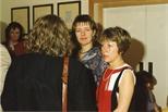 Photograph: Adrian Wiszniewski Exhibition Opening (1988)