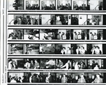 Contact Sheet: Adrian Wiszniewski Exhibition Opening (1988)