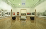 Slide: Alive and Printing exhibition at the McLellan Galleries, Glasgow, 1993.