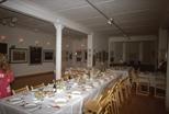 Slide: Hogmanay meal held in the gallery of Glasgow Print Studio (1989)