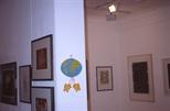 Slide: Unknown exhibition, Glasgow Print Studio, 1995.