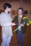 Slide: Unknown celebration, Glasgow Print Studio, 1995.
