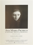 Exhibition poster - Ana Maria Pacheco, Sculpture, Prints and Drawings