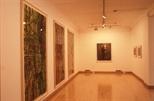 Slide: Georg Baselitz exhibition, Glasgow Print Studio.