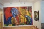 Photograph: Ian McCulloch Exhibition (1989)