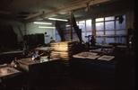 Slide: Screenprint area in the workshop