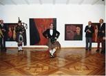 Photograph: Highland Dancer in Douglas Thomson Exhibition (1990)