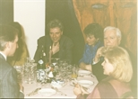 Photograph: Dinner at Opening of Douglas Thomson Exhibition (1990)