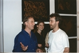 Photograph: Opening of the Elspeth Lamb 'Touchstones' Exhibition (1990)