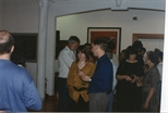 Photograph: Crowd at 'Touchstones' Exhibition Opening (1990)