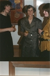 Photograph: Three Women at 'Touchstones' Exhibition Opening (1990)