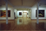 Photograph: Joseph Urie Exhibition of New Work with Door (1991)