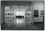 Photograph: Gallery Space with Arch and Window at Contemporary Japanese Printmaking Exhibition (1991)
