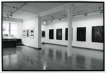 Photograph: View from One Angle of Gallery Space at Contemporary Japanese Printmaking Exhibition (1991)