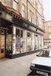 Photograph: Portrait Shot of Exterior of The Original Print Shop on King Street with Door (1992)