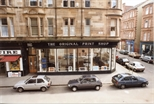 Photograph: View of Exterior of The Original Print Shop from Across the Street (1992)