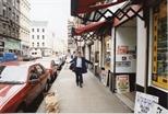 Photograph:  The Postman on King Street (1992)