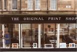 Photograph: Close Up of Exterior of Original Print Shop (1992)