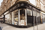 Photograph: View of Exterior of Original Print Shop from Corner (1992)