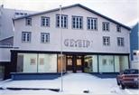 Photograph: Exterior of 'Geyserhus' in Reykjavik (1993)