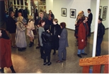 Photograph: Opening of 'Alter-Ego/Self-Portrait' in Reykjavik, Iceland (1993)