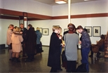 Photograph: Groups of Guests at the Opening of 'Alter-Ego/Self-Portrait' in Reykjavik, Iceland (1993)