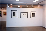 Photograph: Three Works at the Opening of 'Alter-Ego/Self-Portrait' in Reykjavik (1993)