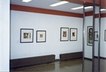 Photograph: Four Works at the Opening of 'Alter-Ego/Self-Portrait' in Reykjavik (1993)