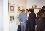 Photograph: Group of Men at the Opening of 'Breaking the Ice' Exhibition (1992)
