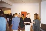 Photograph:A Crowd at the Opening of 'Breaking the Ice' Exhibition (1992)