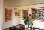 Photograph: Janka Malkowska Display in Print Studio Shop (1992)