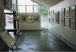 Photograph: Works by June Carey on Display (1992)