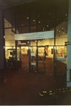 Photograph: Entrance to the Unique and Original Exhibition at the Barbican (1992)