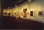 Photograph: Works on Display in Unique and Original Exhibition (1992)