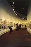 Photograph: Visitors at Unique and Original Exhibition at the Barbican (1992)