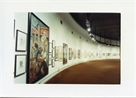 Photograph: Work by Peter Howson at 'Unique and Original' Exhibition (1992)