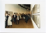 Photograph: Harry Magee at the Opening of 'Unique and Original' Exhibition (1992)