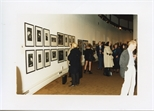 Photograph: Work by Ken Currie at 'Unique and Original' Exhibition (1992)
