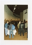 Photograph: People at the Opening of 'Unique and Original' Exhibition (1992)